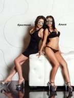 Проститутка Киева Кристина+Алиса, с 3 размером сисек