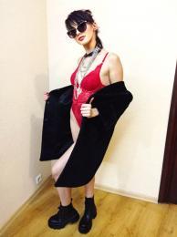Проститутка Киева Рокерша Мэрлин, с 2 размером сисек