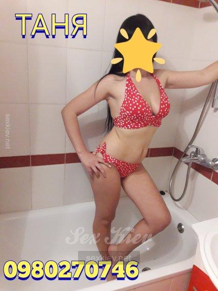 Проститутка Киева Таня, ей 27 лет