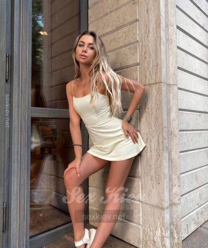 Проститутка Киева Настя, с 2 размером сисек