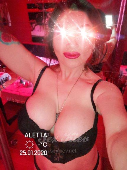 Проститутка Киева Алетта 8 размер, снять за 3000 грн