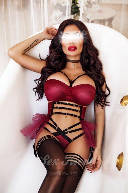 Проститутка Киева МИЛЕНА- ELITE , интим услуги без доплат к 8000 грн