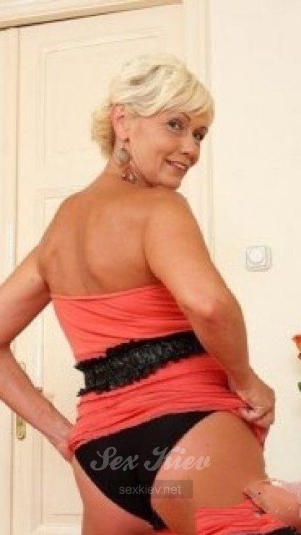 Проститутка Киева Ксения, ей 50 лет