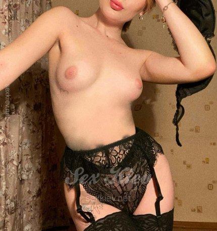 Проститутка Киева НОВЕНЬКАЯ, индивидуалка за 1300 грн