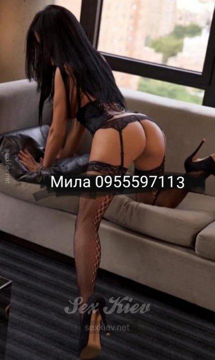 Проститутка Киева Мила, ей 23 года