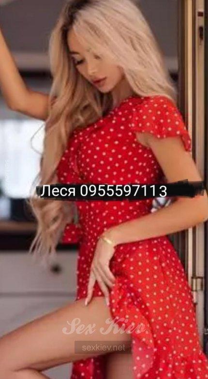 Проститутка Киева Леся, шлюха за 400 грн в час