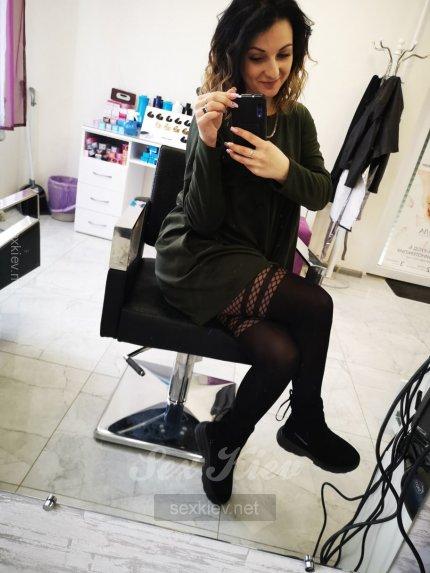 Проститутка Киева Майя, шлюха за 250 грн в час