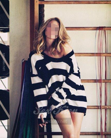Проститутка Киева Новенькая Лиза, с 3 размером сисек