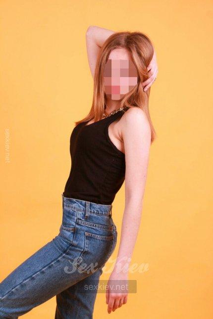 Проститутка Киева Новенькая Лиза, ей 22 года