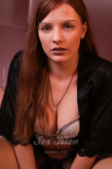 Проститутка Киева Ника, индивидуалка за 1200 грн