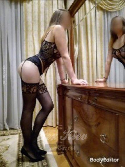 Проститутка Киева Алиса666, с 4 размером сисек