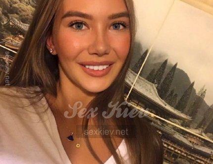 Проститутка Киева Ксения, ей 19 лет