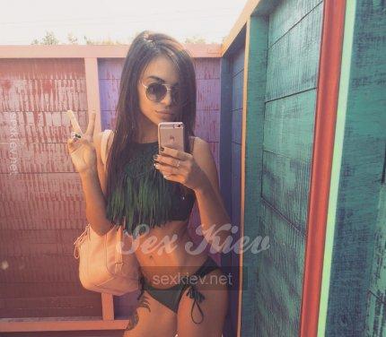 Проститутка Киева Снежана, ей 22 года