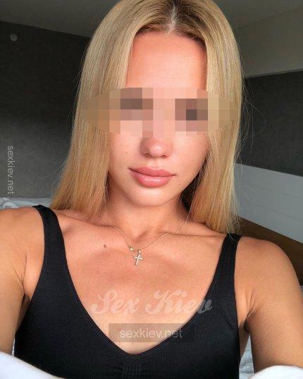 Проститутка Киева Гера, с 2 размером сисек