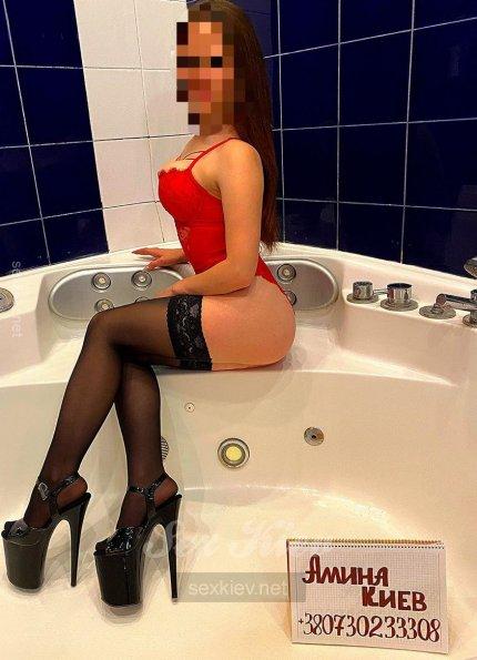 Проститутка Киева Аминочка, снять за 1800 грн
