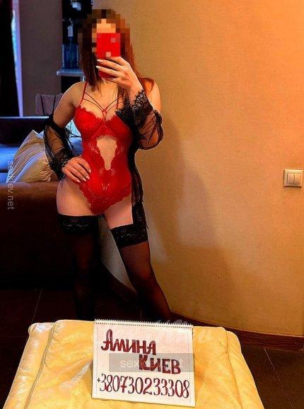 Проститутка Киева Аминочка, ей 20 лет