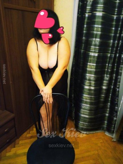 Проститутка Киева Нина, с 5 размером сисек