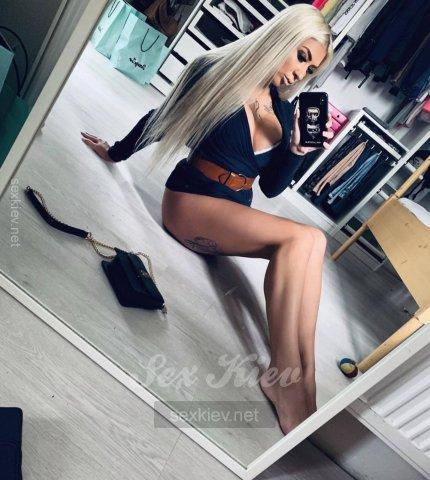 Проститутка Киева Злата, с 2 размером сисек