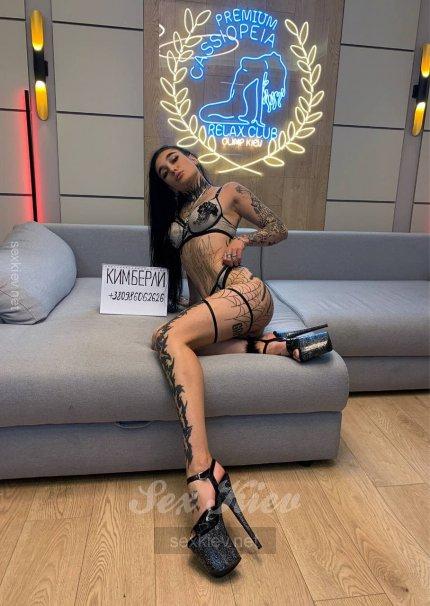 Проститутка Киева Кимберли, ей 18 лет