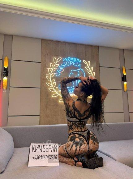 Проститутка Киева Кимберли, индивидуалка за 4000 грн