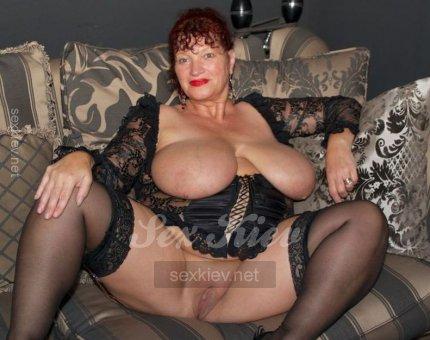 Проститутка Киева ЖАННА, ей 50 лет